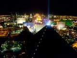 view from club Mix at Mandalay Bay