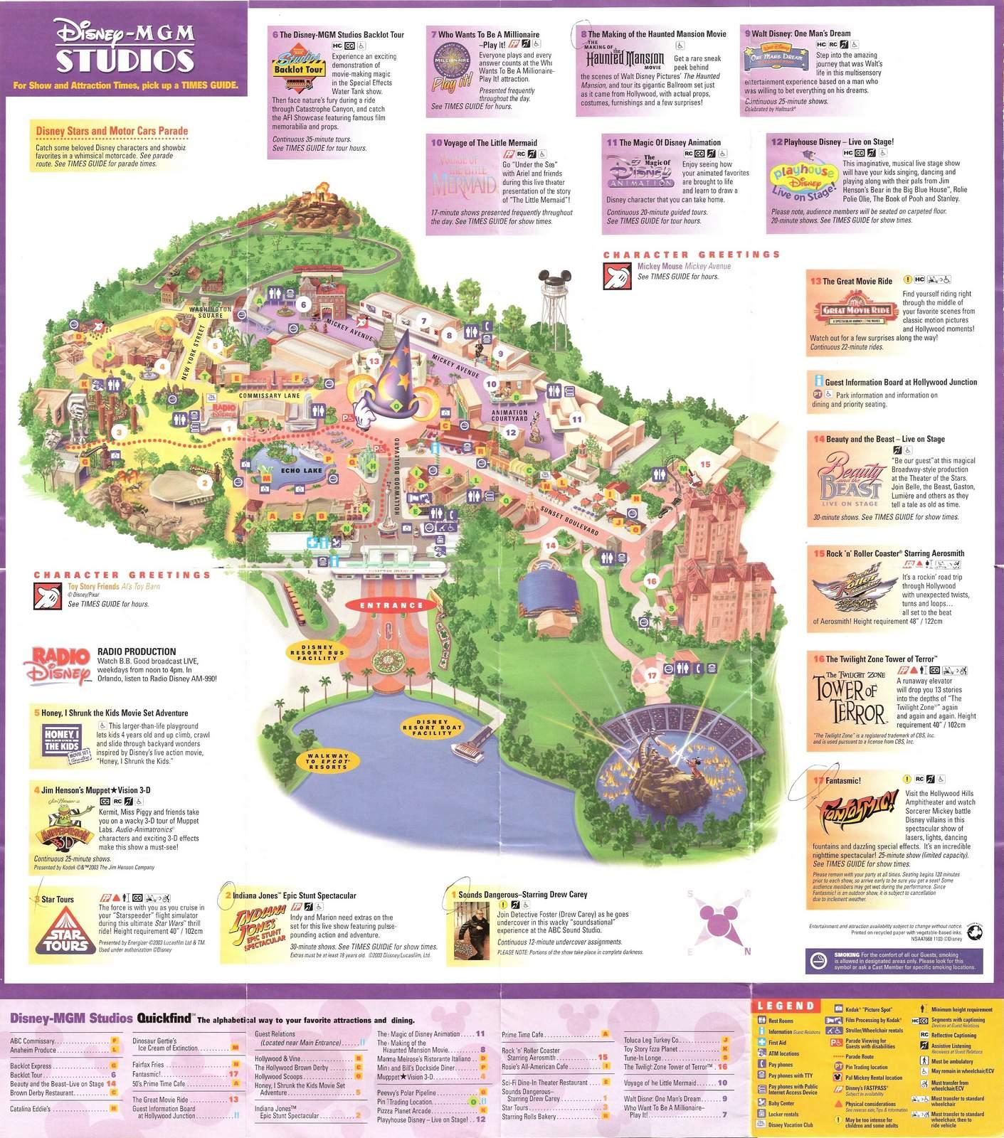 Crapstravaganza 19: Disney\'s MGM Studios 2003 | The DoD3
