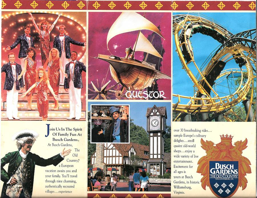 Brochure: Busch Gardens: The Old Country 1991 | The DoD3