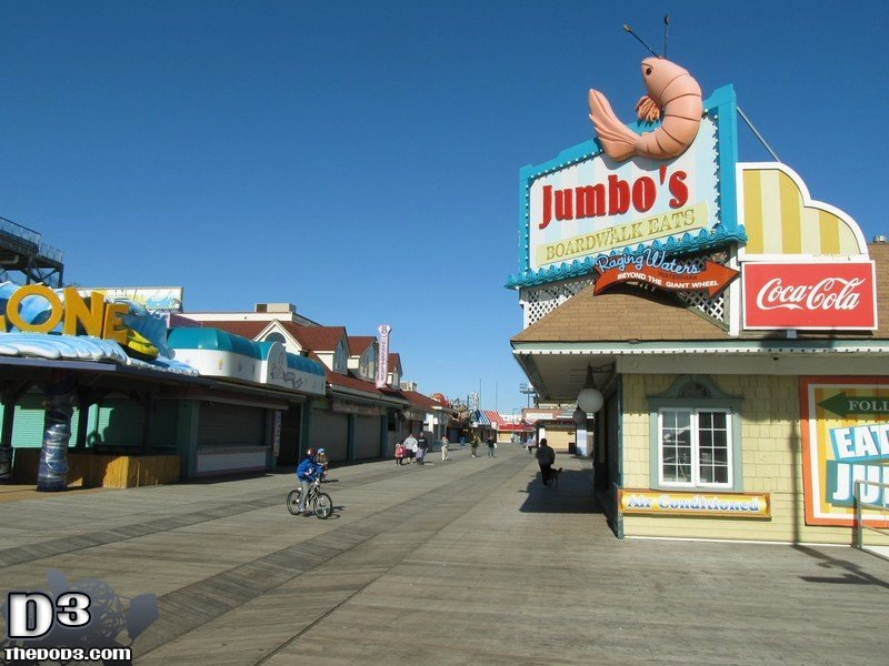 February 2014 Jersey Shore Trip Pt 1 Wildwood The Dod3