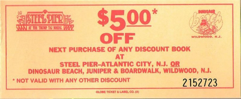 Wildwood nj coupon book