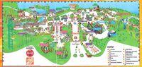 Six Flags 2007 map