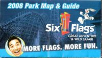 Six Flags 2008 cover