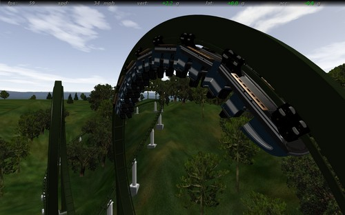 No Limits Coaster: Ravine Runner | The DoD3