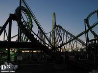 Green Lantern - Six Flags Great Adventure