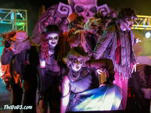 Dead Man's Party - Fright Fest 2017 Six Flags Great Adventure